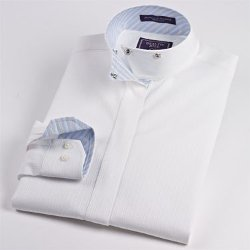 Beacon Hill  - Fantasy Wrap Collar Shirt