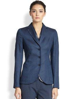 Akris  - Sarai Cashmere & Silk Blazer
