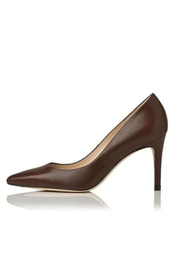 L.K. Bennett - Floret In Chocolate Pumps