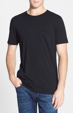 Groceries - Hemp & Organic Cotton Raw Edge Pocket T-Shirt