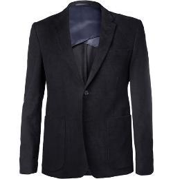 Acne Studios   - Stan J Moleskin Suit Jacket