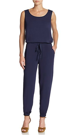 Max Studio - Drawstring Jumpsuit