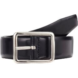 Barneys New York - Spazzolato Leather Reversible Belt