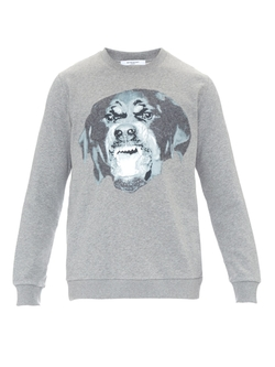 Givenchy - Rottweiler-Print Cotton Sweater