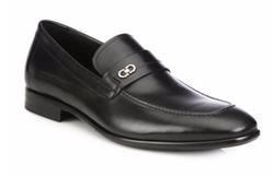 Salvatore Ferragamo - Paros Leather Loafer Shoes