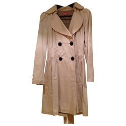 Manoush - Beige Cotton Trench Coat