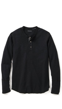 Wings Horns - Base Henley Shirt