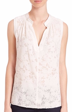 Rebecca Taylor - Lace Sleeveless Top