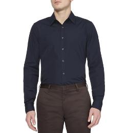 Gucci   - Slim-Fit Cotton Shirt