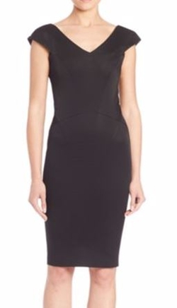 Zac Zac Posen  - Nina Solid Dress