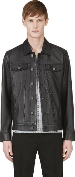 MARC BY MARC JACOBS - Leather Jean Jacket