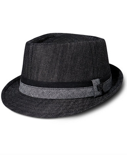 Sean John - Diamond Top Fedora Hat
