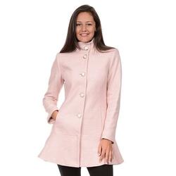 Fleet Street  - Wool Blend Peplum Coat