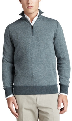 Loro Piana - Roadster Half-Zip Cashmere Sweater