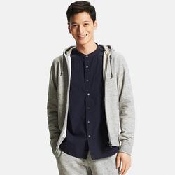 Uniqlo - Long Sleeve Full-Zip Hoodie