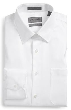 John W. Nordstrom - Classic Fit Herringbone Dress Shirt