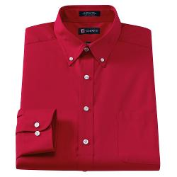Chaps Classic - Fit Solid Button-Down Collar Dress Shirt