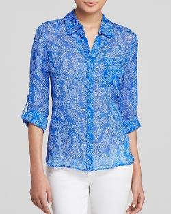 Diane Von - Lorelei Two Silk Furstenberg Shirt