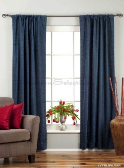 Indian Selections - Rod Pocket Velvet Curtain