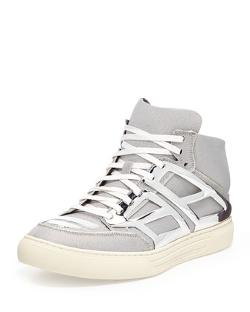 Alejandro Ingelmo  - Iridescent Metallic-Plate High-Top