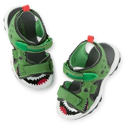 Carter - Dino Light-Up Sandals