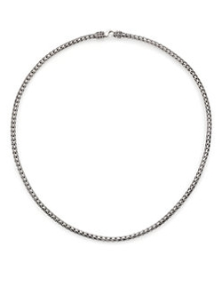John Hardy - Classic Chain Sterling Silver Slim Necklace