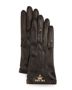 Prada - Napa Leather Gloves