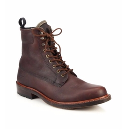 Rag & Bone -  Officer Lace-Up Leather Boots
