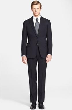 Armani Collezioni - Giorgio Trim Fit Wool Suit