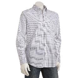Van Heusen  - Traveler Plaid No-Iron Casual Button-Down Shirt - Men