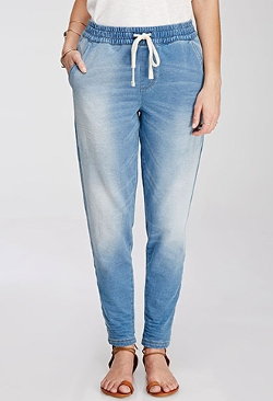 Forever 21 - Stretch Denim Joggers jeans