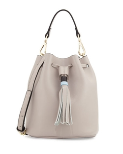 Kc Jagger - Jade Leather Drawstring Bucket Bag
