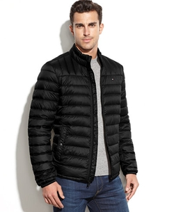 Tommy Hilfiger  - Quilted Packable Down Puffer Jacket