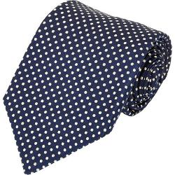 Kiton  - Dot-pattern Neck Tie