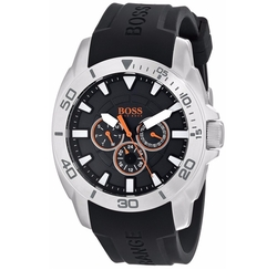Boss Hugo Boss - Stainless Steel & Silicone Casual Watch