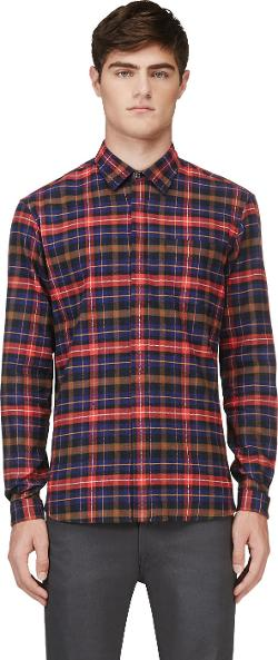 Markus Lupfer  - Plaid Flannel Shirt