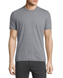 Dolce & Gabbana - Short-Sleeve Crewneck Jersey T-Shirt