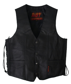 Hot Leathers - Heavy Weight Leather Vest