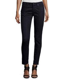 Elie Tahari - Azella Pintucked Skinny Jeans
