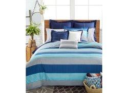 Tommy Hilfiger - Malibu Sunstripe Aqua Comforter Set