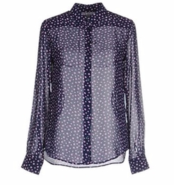Uniqlo - Polka Dot Button Shirt