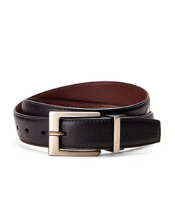English Laundry - Reversible Smooth Bonded Leather Belt