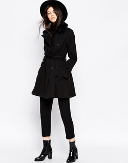 Asos Collection - Skater Coat
