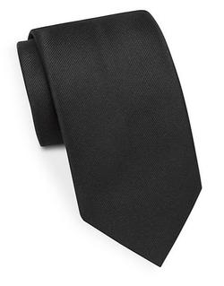 Brioni  - Solid Silk Tie
