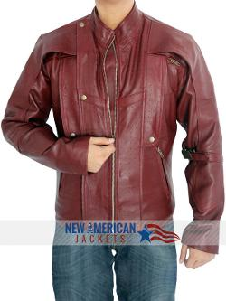 Newamericanjackets - Chris Pratt Guardians of the galaxy Leather Jacket