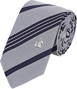 Lanvin  - Striped Silk Necktie