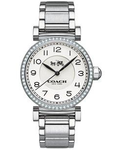 Coach - Madison Stainless Steel Bracelet Watch