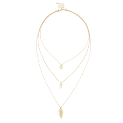Sole Society - Layered Charm Necklace