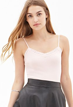 Forever21 - Lace Trim Cami