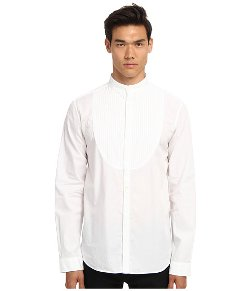 Pierre Balmain  - Button Up Mandarin Collar Shirt